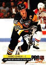 1992-93 Pro Set #1 Mario Lemieux