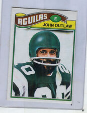 1977 Topps Mexican # 466  JOHN OUTLAW  Eagles  Jackson State  SP  stb