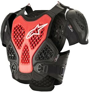 Protection Cross Alpinestars Bionic Roost Guard Black Red