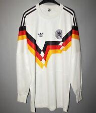 DEUTSCHLAND DFB 1988 1990 TRIKOT HOME ADIDAS SHIRT JERSEY GERMANY LONG SLEEVE