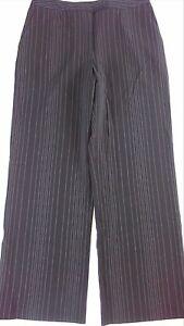 Evan Picone Dress Pants VTG 90s Womens 10 Fits SZ 6-8 Striped 32 x 30 Actual
