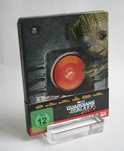Wie neu / Geprägtes Limited Blu Ray Steelbook / 3D Guardians of the Galaxy Vol.2