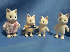 SYLVANIAN FAMILIES SILK CAT FAMILY - THE GOLIGHTLYS  - GOLIGHTLY FAMILY