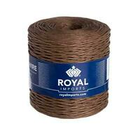 Brown Floral Bind Wire Wrap Twine, Paper Covered Waterproof Rustic Vine for
