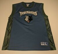 Minnesota Timberwolves Mens Large Vintage 90s Official NBA Jersey Mint Condition