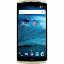 "NEW ZTE Axon Pro Ion Gold 5.5"" 64GB Factory Unlocked SmartPhone 4K Video"