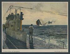 C. Bergen Kaiserliche Marine U-Boot Nordsee Seekrieg Sperrgebiet Versenkung 1917