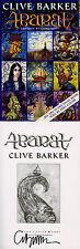Clive Barker SIGNED AUTOGRAPHED Abarat ADVANCED READING COPY 1st Ed/1st *RARE*