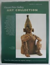 Vintage 2001 Poster Vincent Price Gallery Art Collection Print Mexico Veracruz