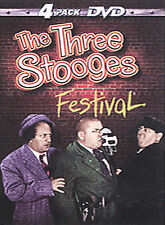 NEW The Three Stooges Festival (DVD, 2000, 4-Disc Box Set)