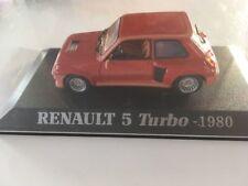 RENAULT 5 Turbo 1980 1/43 Bon état en boite   J26