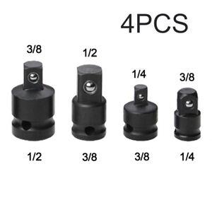 4pcs 1/4 3/8 1/2 Chiave A Bussola Adattatore Converter Cricchetto Riduttore Kits