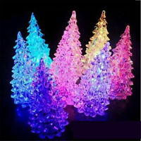 Colorful Changing Christmas Tree Home Decor LED Light XMAS Party Night Lamp Gift