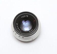 IOR Bucuresti TEMAR  70mm F 4,5 -- fast vintage lens TRIOPLAN formula