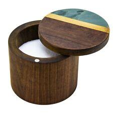 Totally Bamboo Rock & Branch Slate and Acacia Salt Box / Cellar