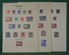 BURMA STAMPS SELECTION ON 7 ALBUM PAGES  (K32)