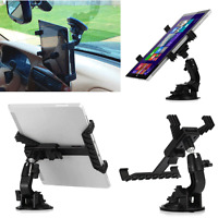 "360° Car Windshield Mount Holder For 7-11"" iPad Mini/2/3/4/Air Samsung Tablet US"