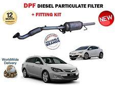 per Vauxhall Opel Astra J 1.7 CDTI 2009- > NUOVO FILTRO ATTIVO ANTIPARTICOLATO