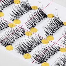 10 Pairs Makeup Half Winged False Eyelashes Corner Mini Accent Lashes Extension