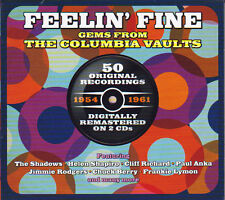 FEELIN' FINE - GEMS FROM THE COLUMBIA VAULTS - 50 ORIGINALS (NEW SEALED 2CD)