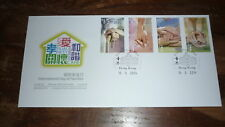 2014 HONG KONG STAMP ISSUE FDC, INTERNATIONAL DAY OF FAMILIES SET OF 4 STAMPS