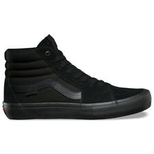 "Vans ""Sk8-Hi Pro"" Sneakers (Blackout) Men's Suede High Top Classic Skating Shoes"