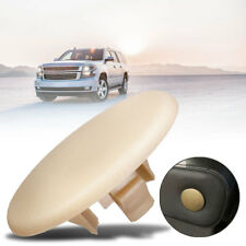 Car Rear Seat Armrest Bolt Cover Cap Beige New For Chevy GMC 2007-2018