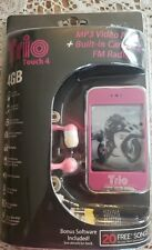 Trio Touch 4 Pink Mp3 4Gb 20 Free Songs - New