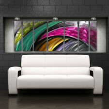 Modern Abstract Metal Wall Sculpture Art Work Painting Home Decor Graffiti Large