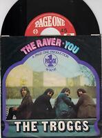 "THE TROGGS - The Raver - Original 1970 German  2-track 7"" vinyl single in p/s"