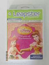 LeapFrog Leapster2 ~ Disney Princesses Worlds of Enchantment Ship WORLDWIDE NEW