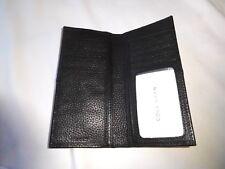 Cole Haan BLACK Breast Pocket Leather Wallet -- BRAND NEW!!  MenWomenStyles