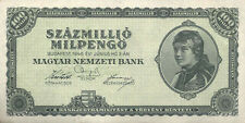 Ungheria/HUNGARY 100 milioni milpengö 1946 PICK 130 (1)