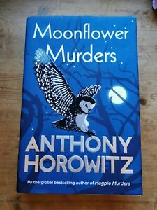 Moonflower Murders by Anthony Horowitz Hardcover Book