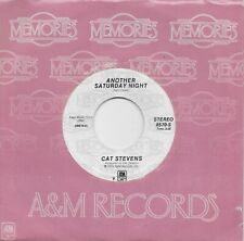 CAT STEVENS  Another Saturday Night / Oh Very Young 45