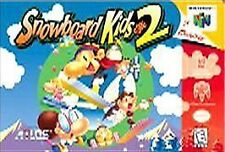 SNOWBOARD KIDS 2 N64 NINTENDO 64 GAME COSMETIC WEAR