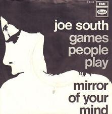 "JOE SOUTH – Games People Play (1969 VINYL SINGLE 7"" HOLLAND)"