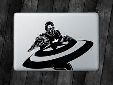 Captain America Sticker Avengers Decal For Apple MacBook Mac iPad Laptop Car