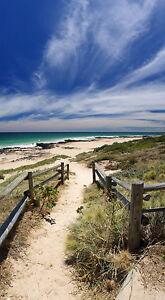 PRINT POSTER Beach  seascape photo ocean sea Australia Fits A0 Glass Frame