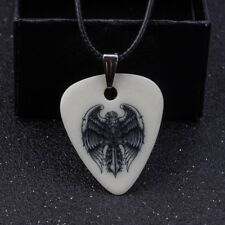 Eagle Cross Christian 1.0 MM Guitar Pick Necklace Free Tracking US Seller New