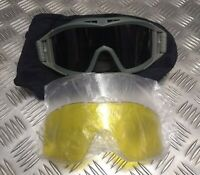 Genuine Britsih Army And Nato Revision Locust Ballistic Goggles Coyote Deluxe 3