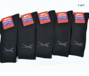 Slazenger 5PK Mens Sports Socks - Navy - UK 7-11