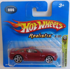Hot Wheels Realistix 2005 Ford Mustang Short Card 6/20 First Edition