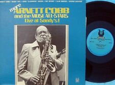Arnett Cobb ORIG US LP Live at Sandy's EX '83 Muse Buddy Tate Soul Jazz