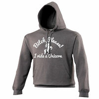 Bitch Please I Ride A Unicorn HOODIE Horse Pony Riding Tee Gift birthday funny
