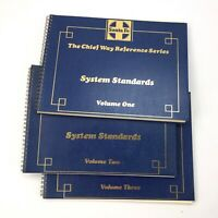 SANTA FE RAILROAD The Chief Way Reference Series System Standards, VOLUMES 1-3