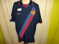 "FC Barcelona Original Nike Auswärts Trikot 2002-2004 ""ohne Hauptsponsor"" Gr.L"