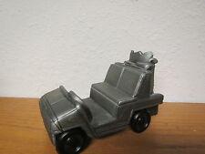 Vintage 1974 BANTHRICO PEWTER GOLF CART BANK /  Diecast golf kart U.S.A made