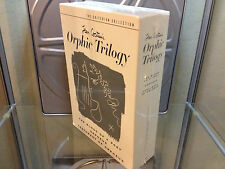 Orphic Trilogy 3 DVD Box NEW Jean Cocteau The Blood of a Poet Criterion Orpheus