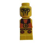 LEGO 4x Minotauro GLADIATORE giallo yellow Micro PERSONAGGIO NUOVO micofig NEW microfigure